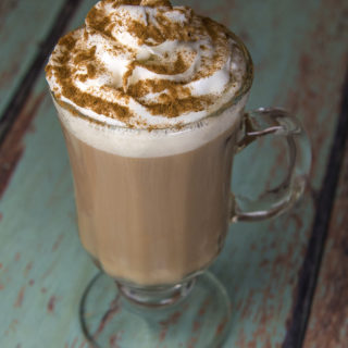 Spiced Tea with Whipped Cream