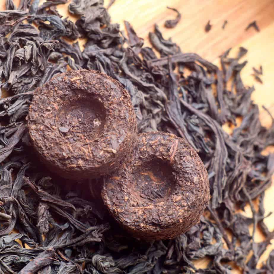 What is Specialty Tea? Puerh tea cake