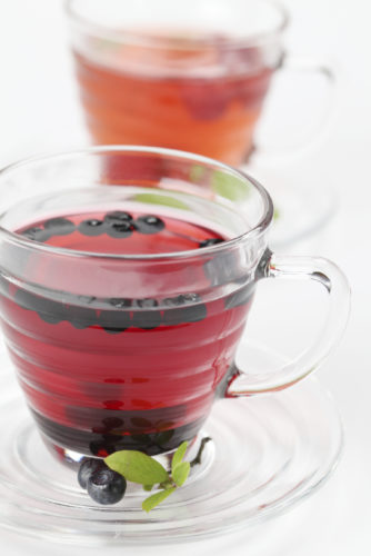 Beyond Healthy Blueberry Iced Tea