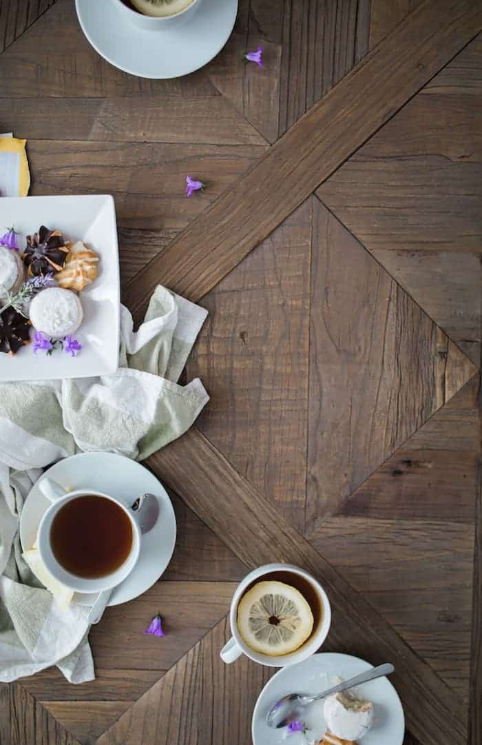 Thankful - hot tea with lemon
