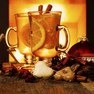 Hot tea toddy