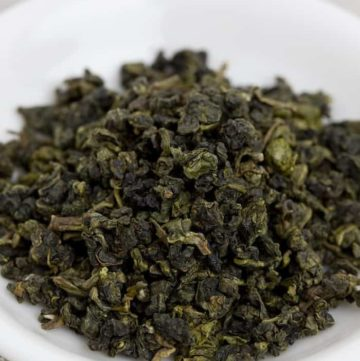 Leaf of Oolong tea