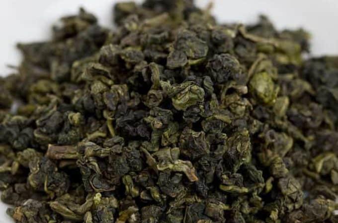 Leaf of Oolong tea