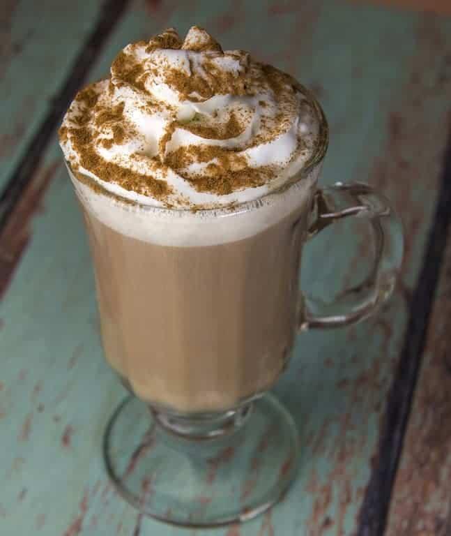 Spiced Tea Latte With Citrus Twist