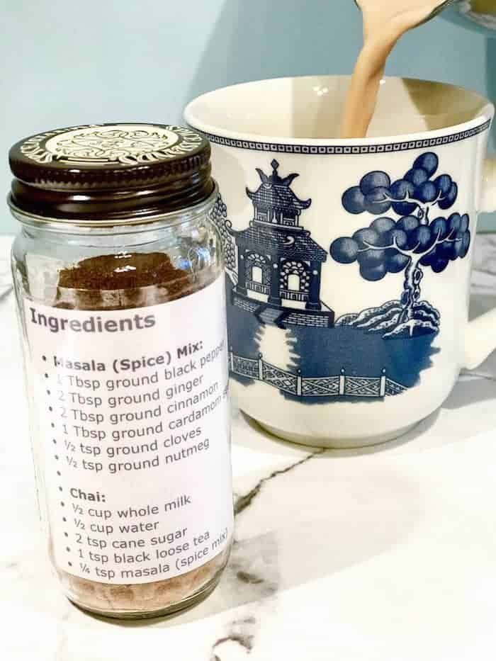 Homemade Chai Latte Spice Mix