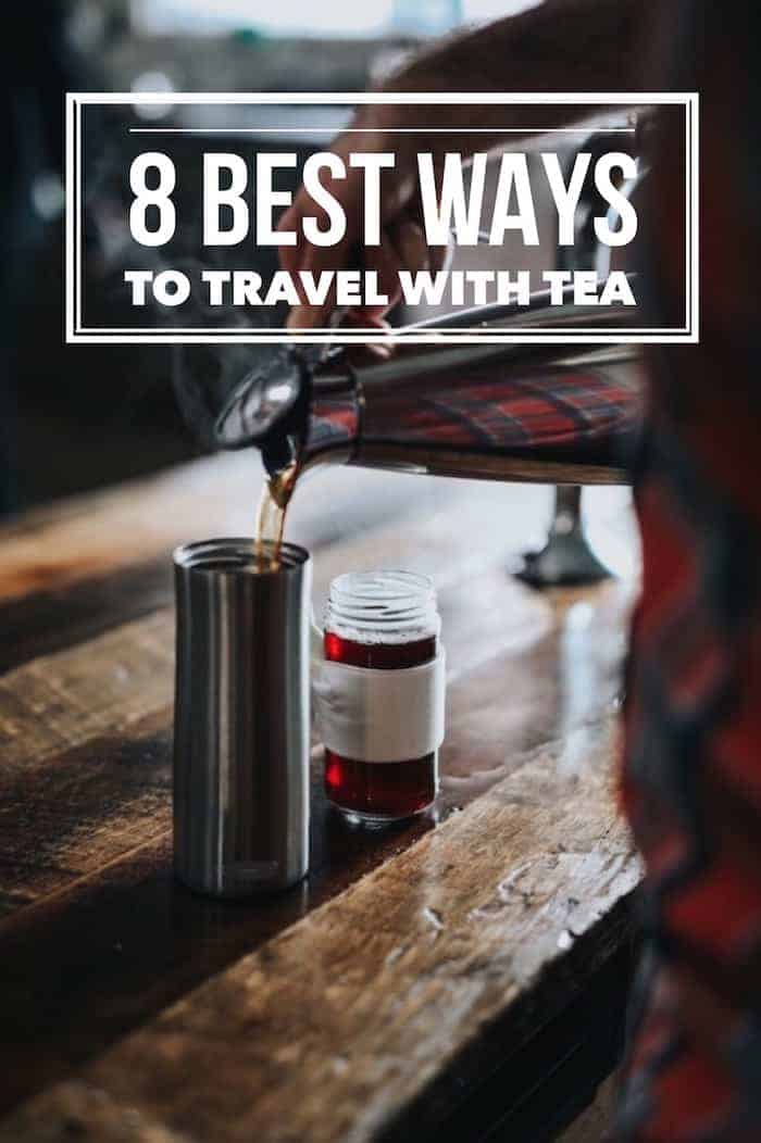 Travel with tea. Enjoy great tea easily, whether you're an overnighter, away for the week or at work for the day. Here are some of the best ways to travel with tea.