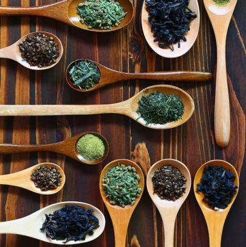 all types of tea