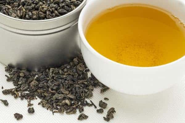 gunpowder green tea for moroccan mint tea