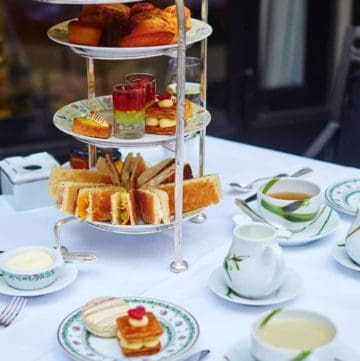 best afternoon tea in London table setting