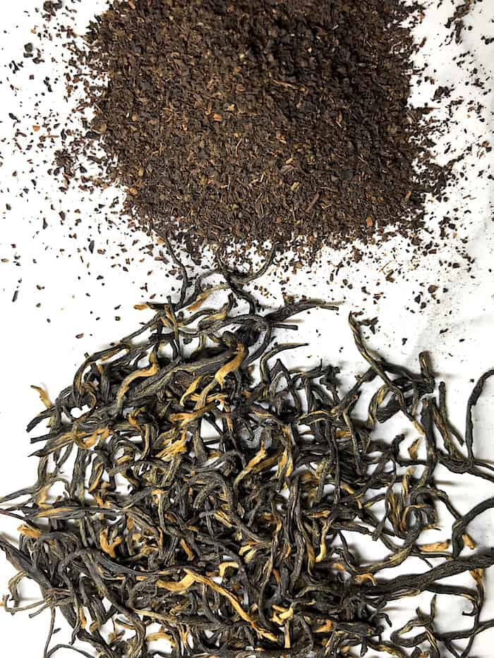 tea bag vs loose leaf tea specialty tea