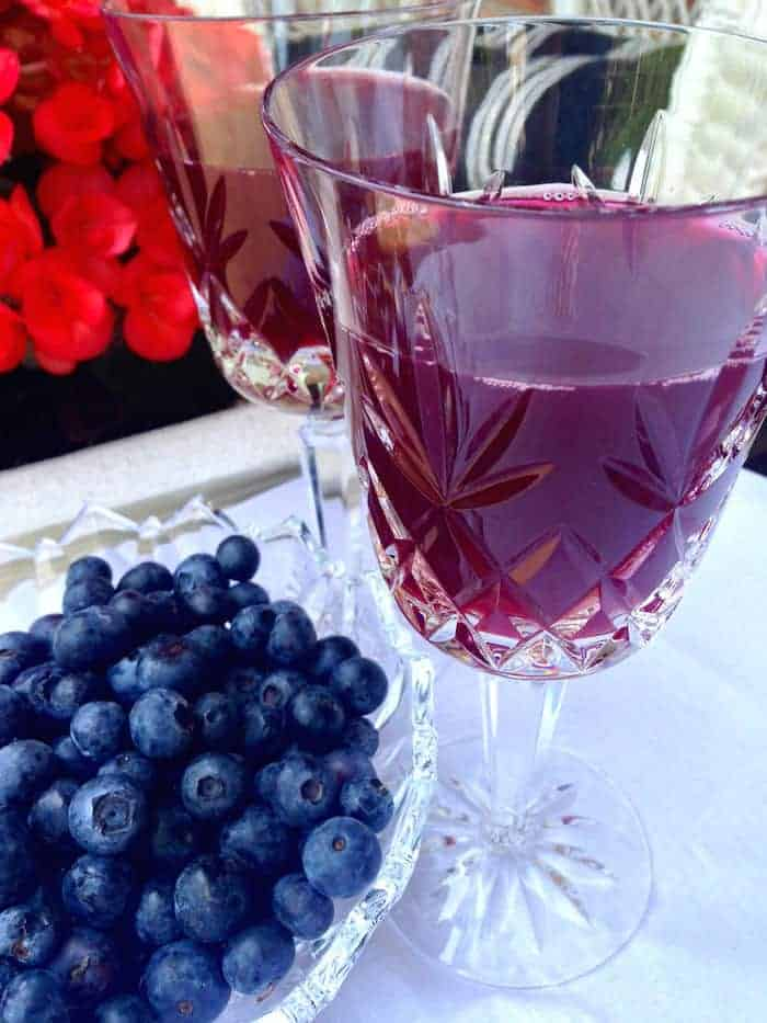 Beyond Healthy Blueberry Iced Tea