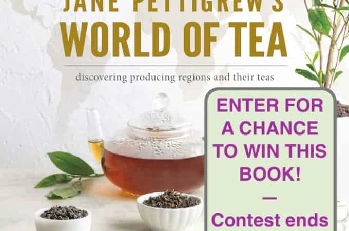 world of tea book giveaway