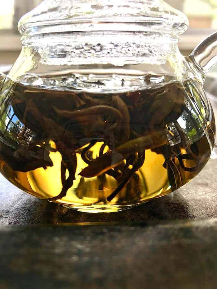 oriental beauty steeping