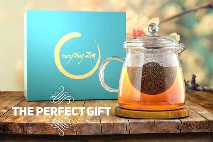 Glass Teapot Everything Zen tea gift