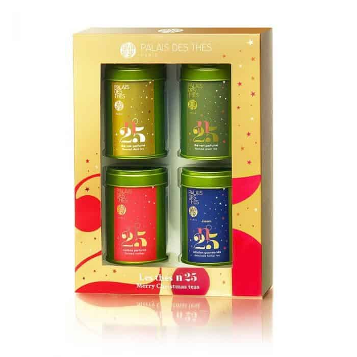 boxed tea gift set