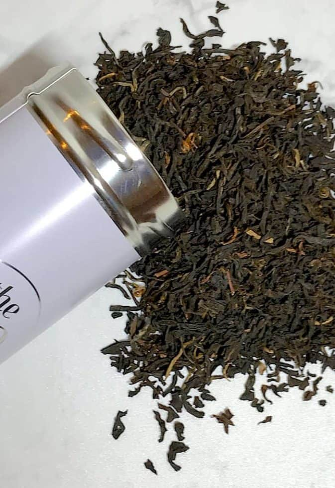 English Breakfast Tea leaves The Tea Spot for Hot Toddy Tea