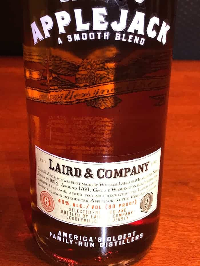 Lairds Apple Jack Bottle for hot toddy tea
