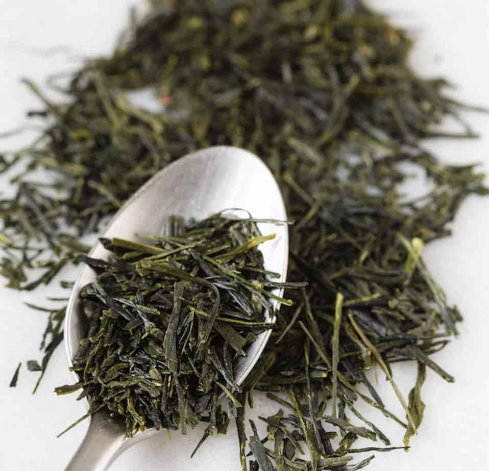 dry leaf sencha