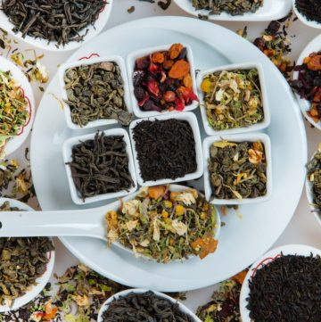 Tea of the month club variety of loose leaf teas