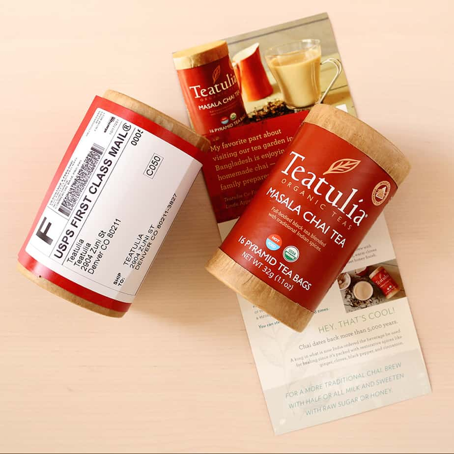 Teatulia masala chia in package subscription