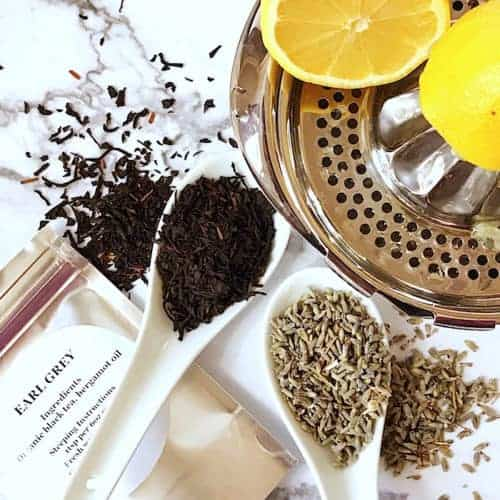 Earl Grey Lavender Tea and Lemonade
