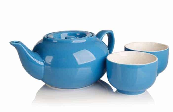 Adagio sky blue teapot