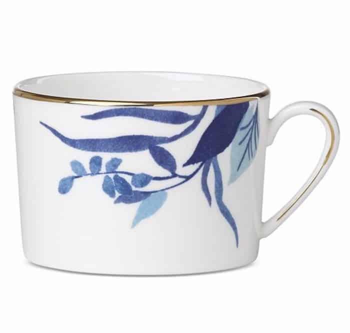birch way indigo teacup
