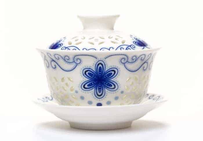 Gaiwan Rice pattern