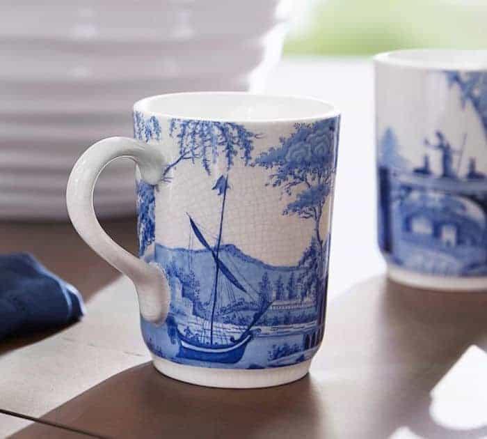 pottery barn mug