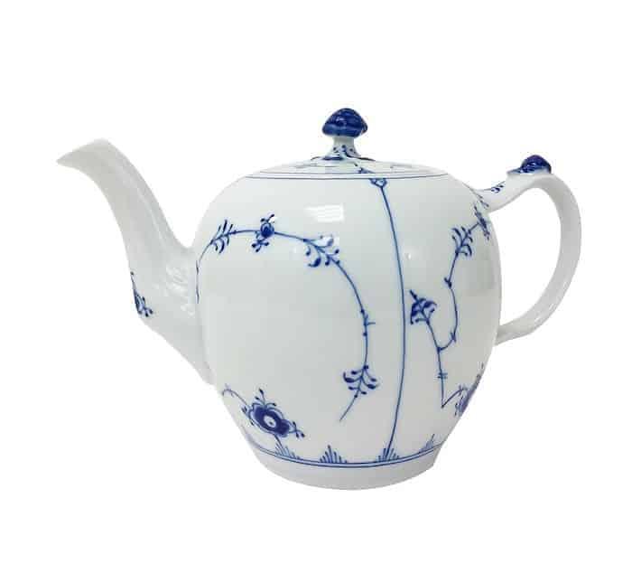 Royal Copenhagen Tea Pot blue and white