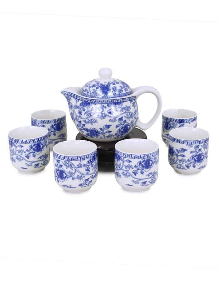 raditional Blue & White Chinese Tea