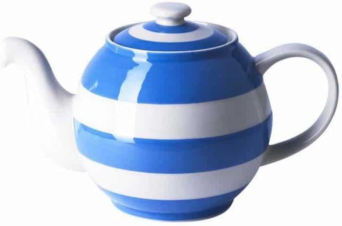 cornishware blue and white stripe