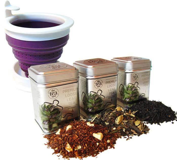 Tea Spot loose-tea-starter-violet