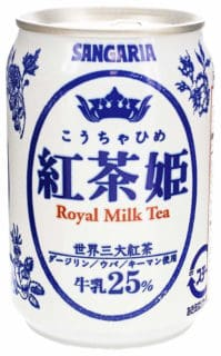 royal milk tea in a can