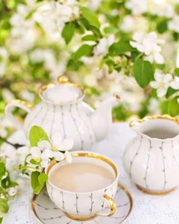 royal milk tea setting