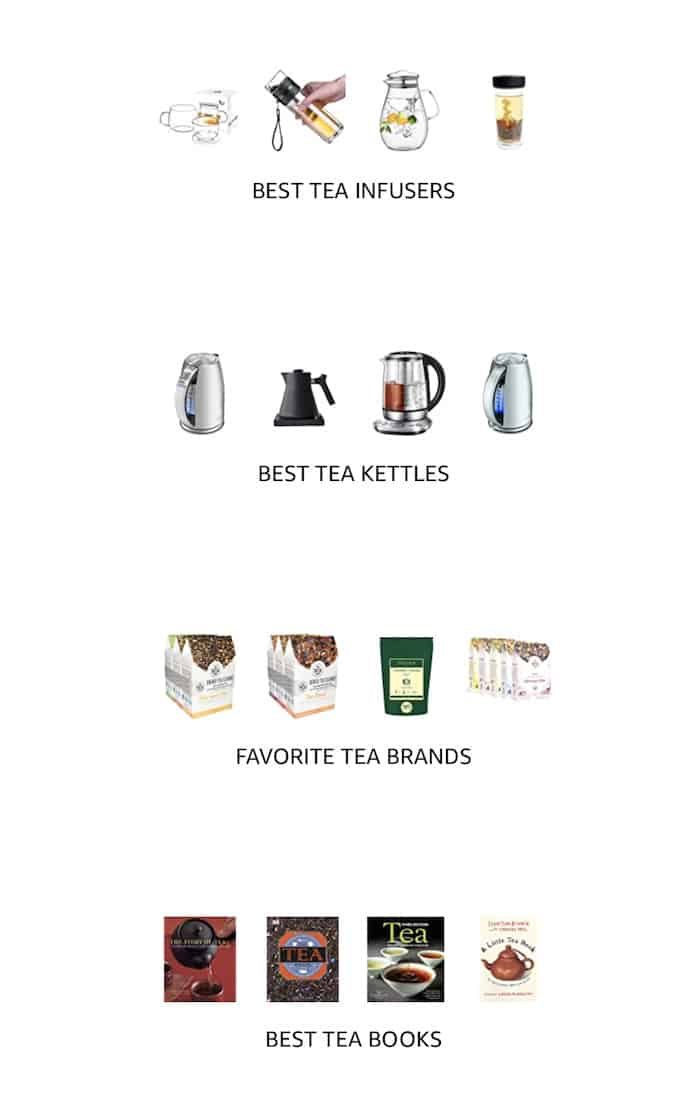 Amazon Shop Tea Brands