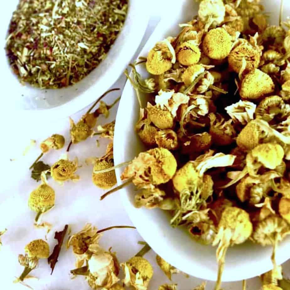 chamomile whole flowers vs fanning