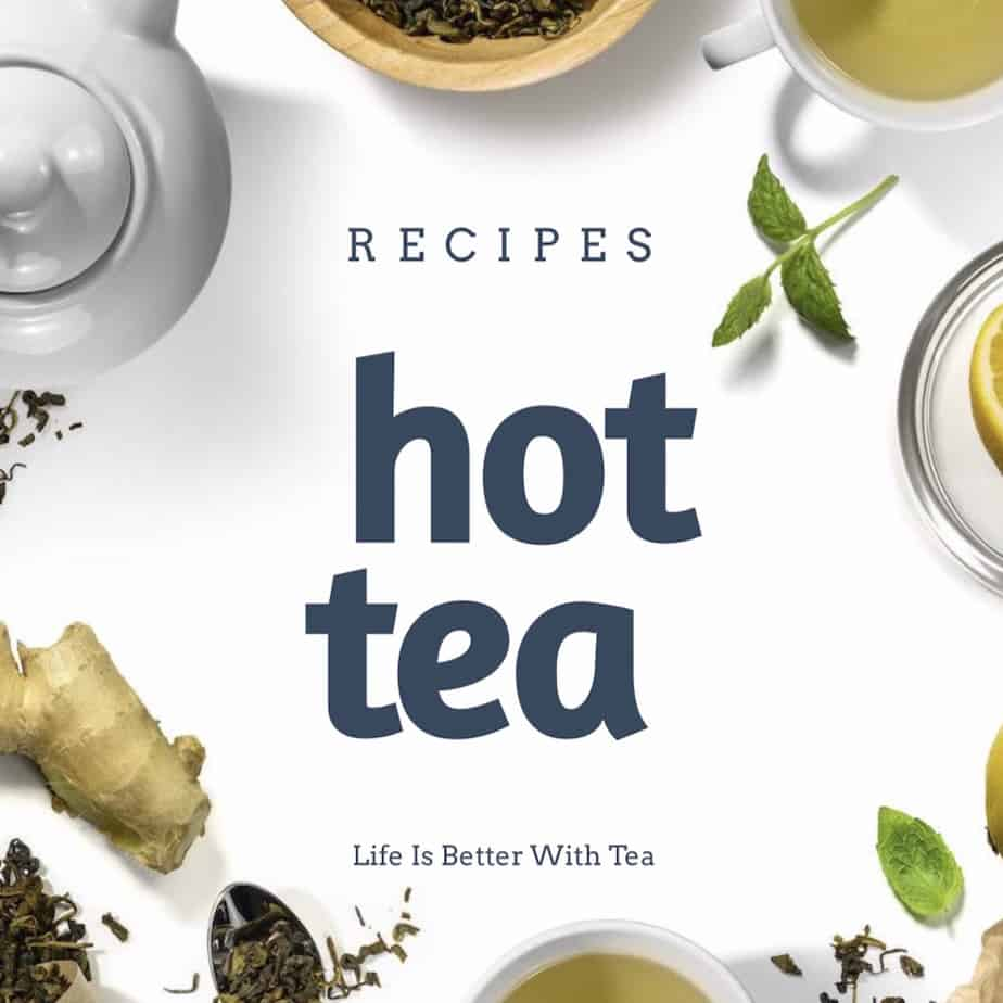 hot tea recipes ebook cover