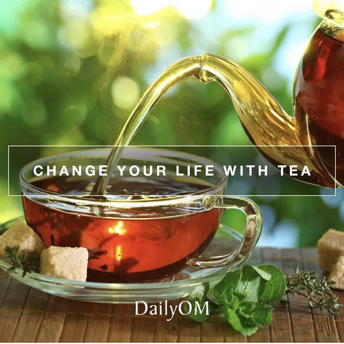 Change your life with tea DailyOm tea course