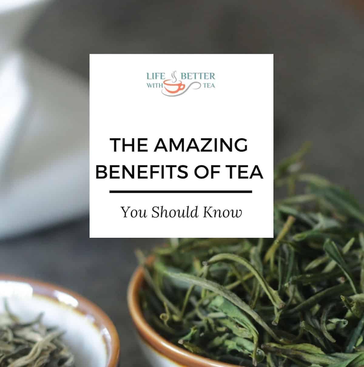 the amazing benefits of tea ebook cover