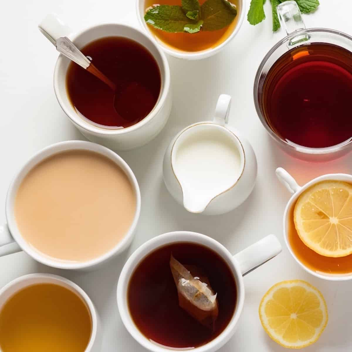 quit coffee multiple cups of tea to drink instead