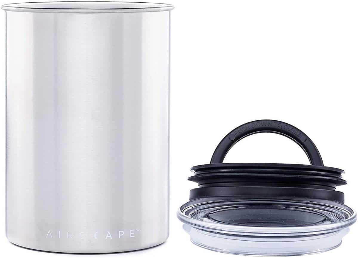airscape tea storage container