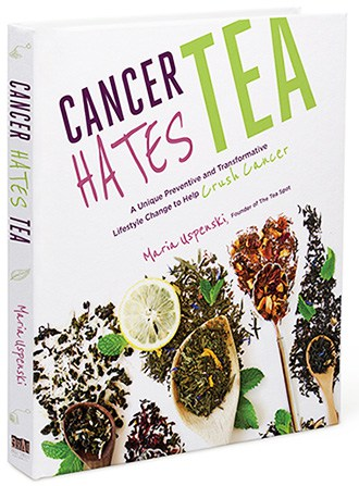 Cancer Hates Tea Book Cover Review